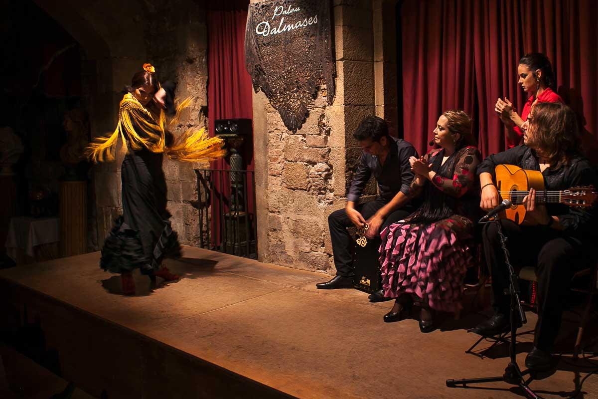 Conciertos de flamenco en Barcelona - Palau Dalmases 06