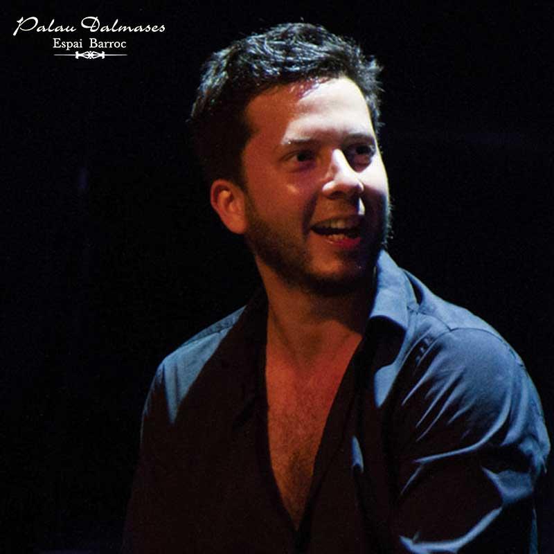 Lucas Balbo - Percusionista flamenco - Palau Dalmases 01