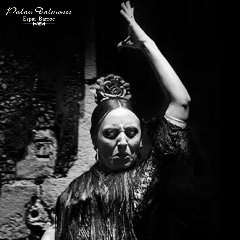 Verónica Perez - - Bailaora flamenco - Palau Dalmases 01