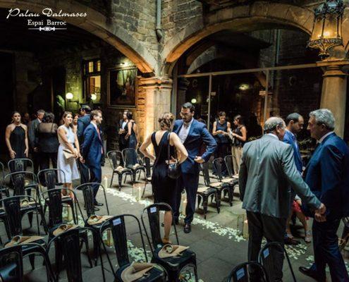Espacio para bodas en Barcelona - Palau Dalmases 04