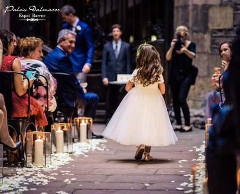 Espacio para bodas en Barcelona - Palau Dalmases 03