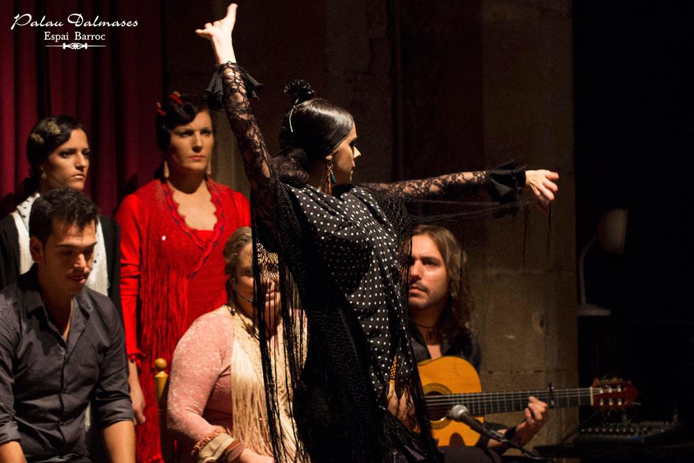 Noches de flamenco en Barcelona - Palau Dalmases 00