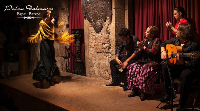 Flamenco en Barcelona - Palau Dalmases 01