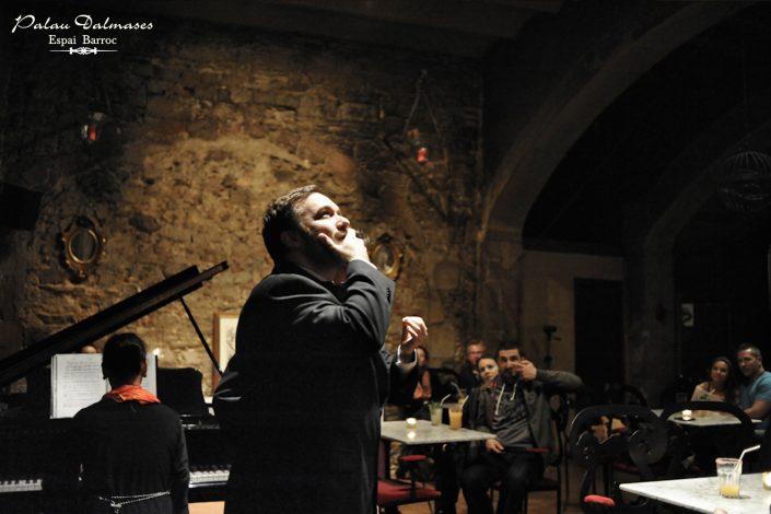 Barítono de Ópera en Barcelona - Palau Dalmases 00
