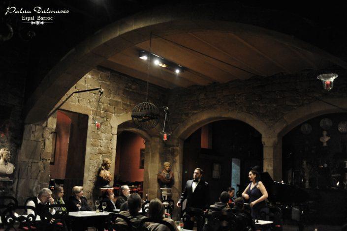 Cantante de Ópera en Barcelona - Palau Dalmases 00