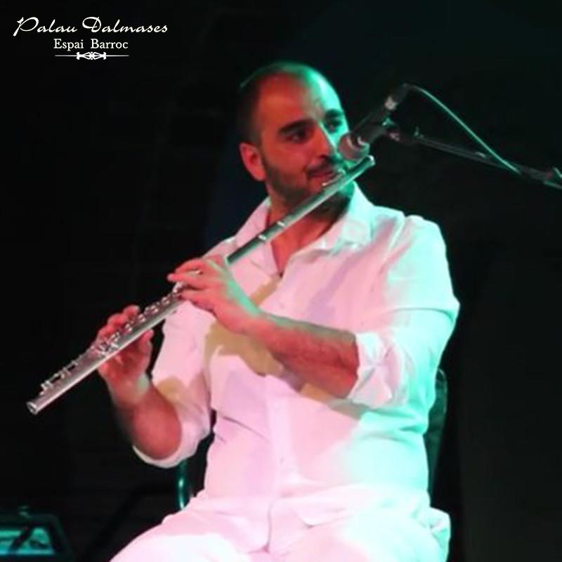 Músico flamenco Fran León