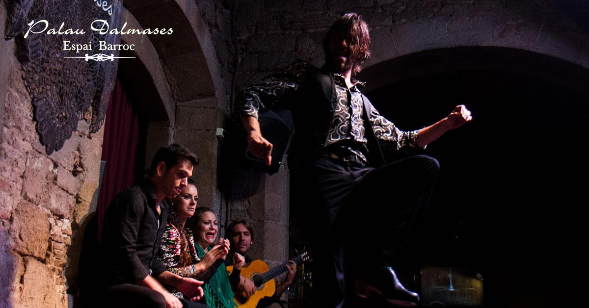 5 razones para disfrutar del mejor espectáculo flamenco en Barcelona 00 | Palau Dalmases