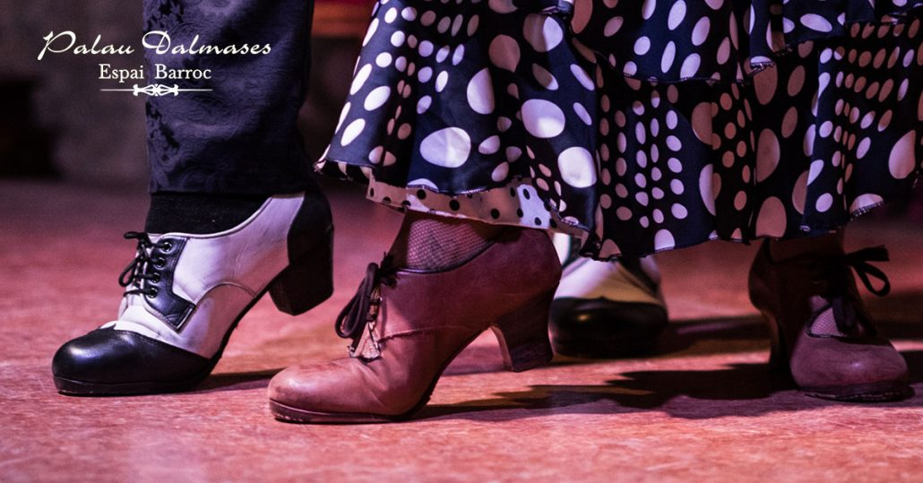 traje flamenca Barcelona I Palau Dalmases