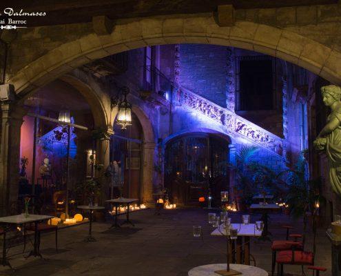 Palau Dalmases - Opera show in Barcelona 01