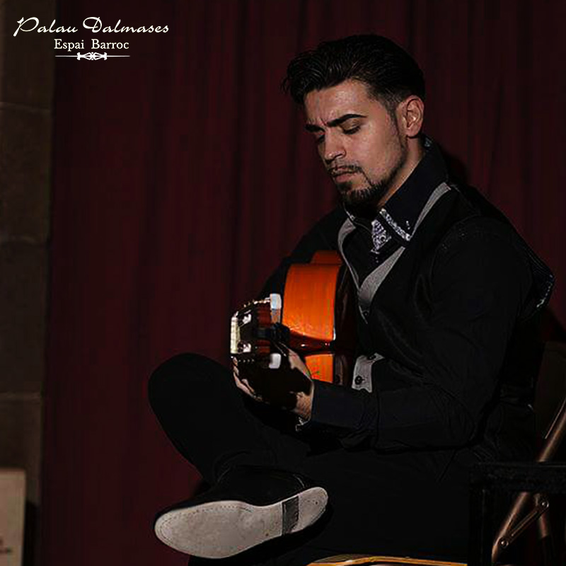 José Santiago el Chote - Guitarrista flamenco - Palau Dalmases