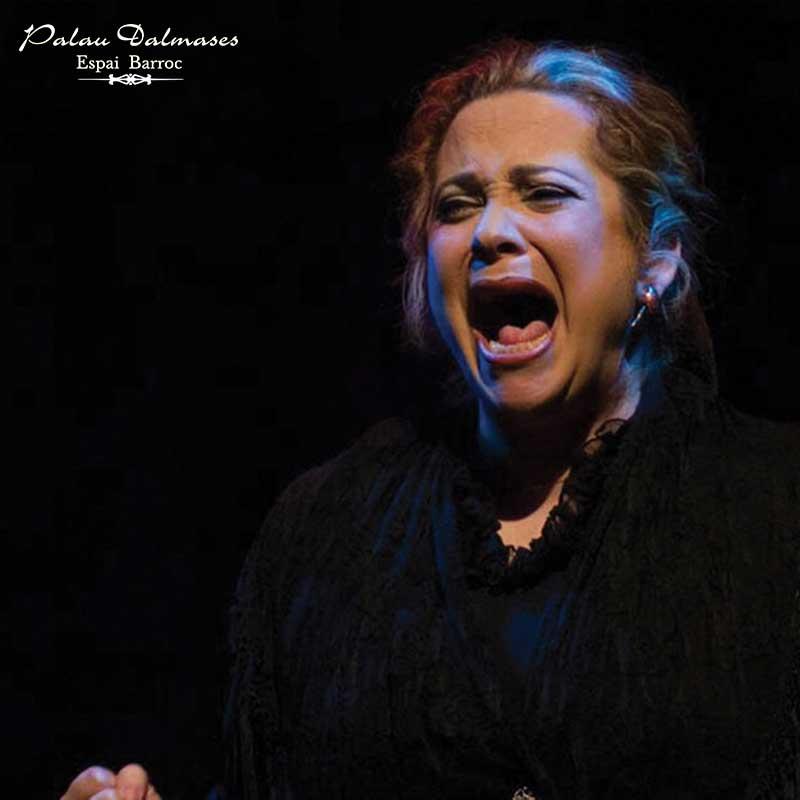Cantaora Miriam Vallejo