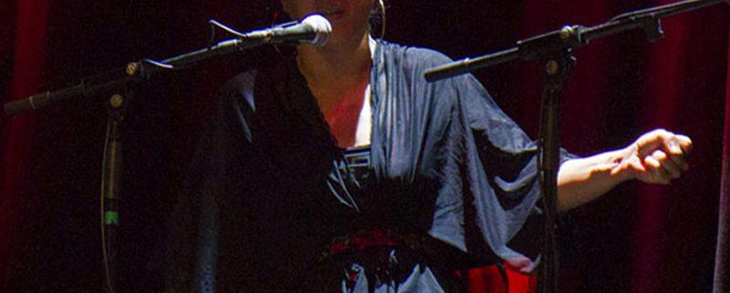 Mónica Chicuela - Cantaora flamenco - Palau Dalmases 02