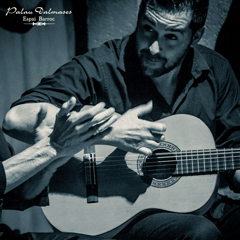 Guitarrista flamenco Rafael Fernández