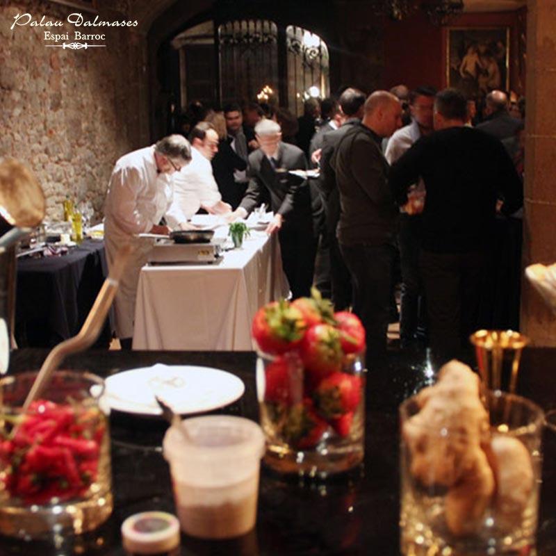 Reuniones de empresa, eventos privados en Barcelona - Palau Dalmases 01