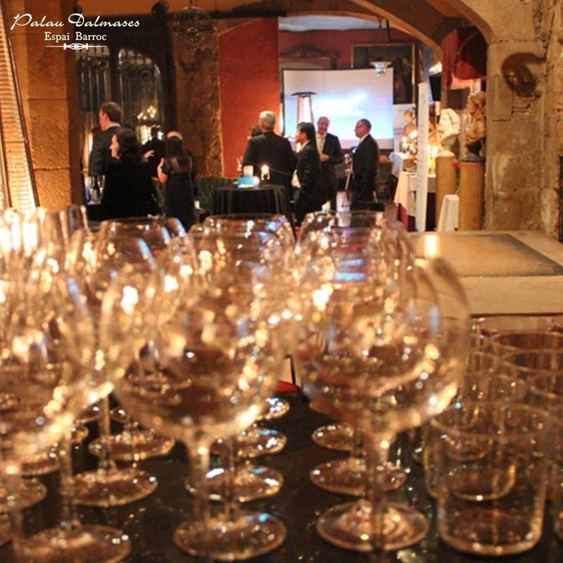Reuniones de empresa, eventos privados en Barcelona - Palau Dalmases 00