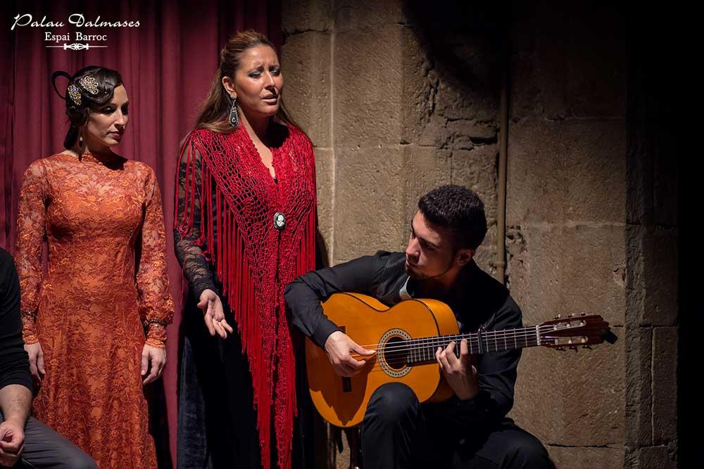 Los mejores artistas flamencos en Barcelona - Palau Dalmases 00