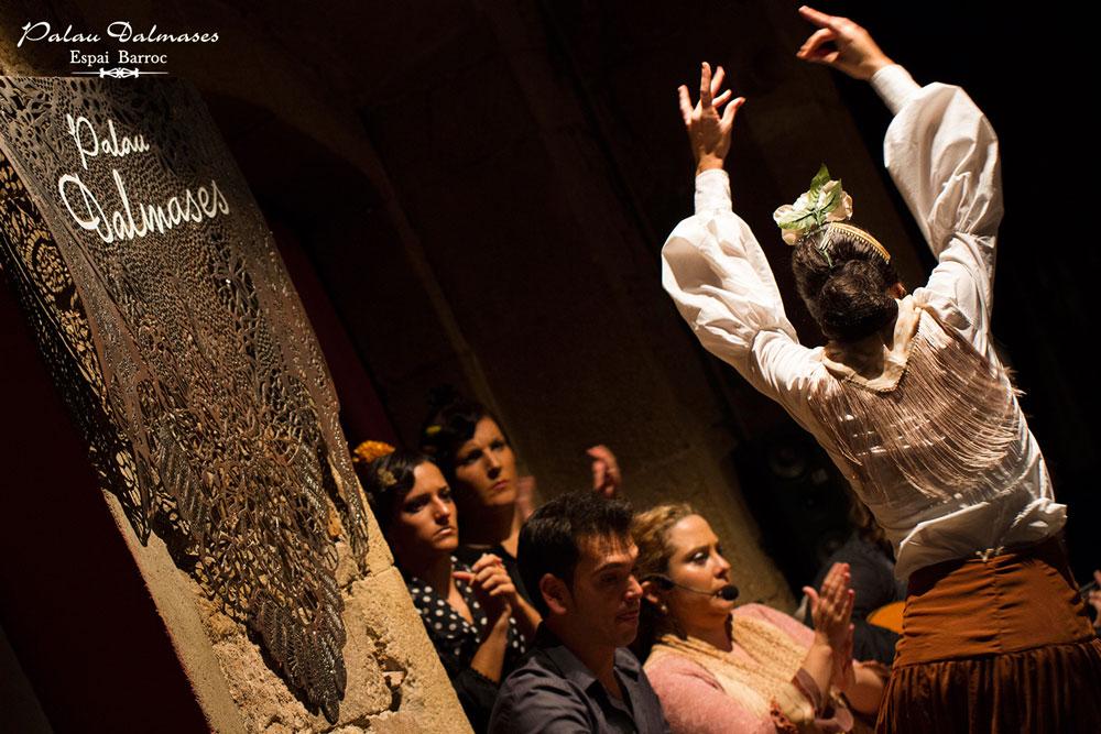 Bailes flamencos en Barcelona - Palau Dalmases 00