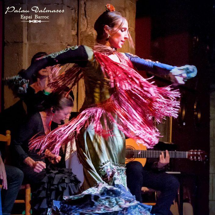Arte flamenco en Barcelona - Palau Dalmases 00
