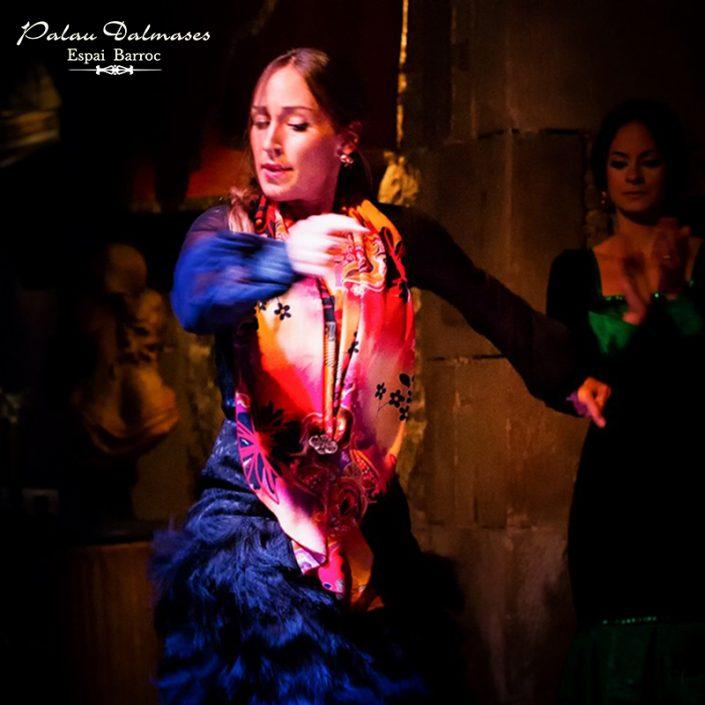 Baile flamenco en Barcelona - Palau Dalmases 00