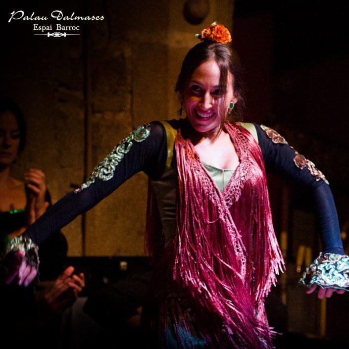 Espectáculo flamenco en Barcelona - Palau Dalmases 00