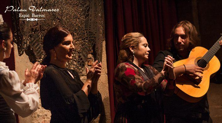 Artistas flamencos en Barcelona - Palau Dalmases 00