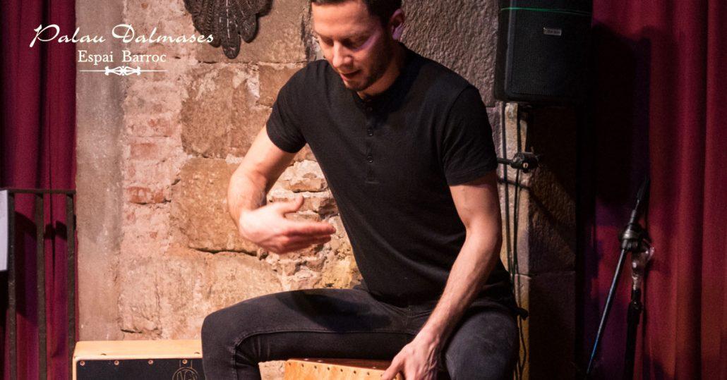 cajón flamenco Barcelona I Palau Dalmases