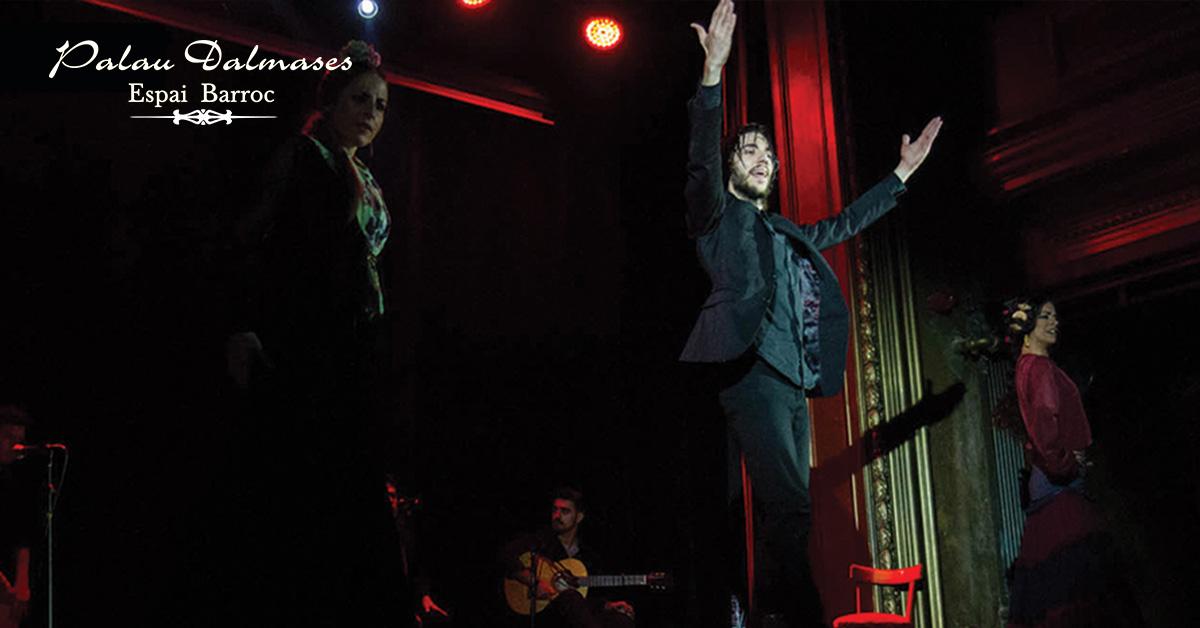Bailaor flamenco José Manuel Álvarez 00 | Blog Palau Dalmases