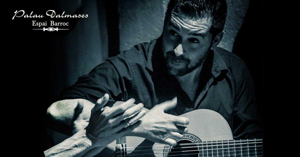 Rafael Fernández - Guitarrista flamenco 01 - Palau Dalmases