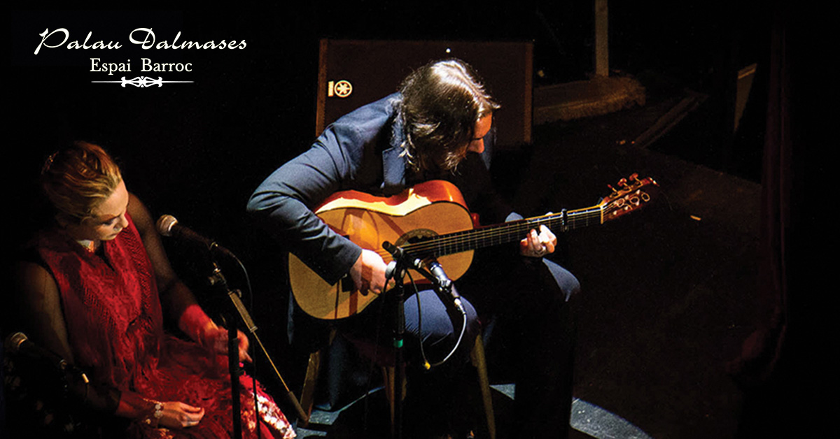 Francisco Díaz guitarrista flamenco 00 | Palau Dalmases
