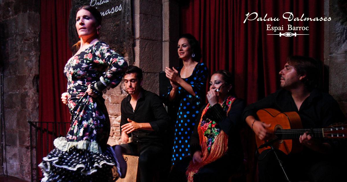 10 razones para ver un espectáculo flamenco en Barcelona 00 | Palau Dalmases Espai Barroc