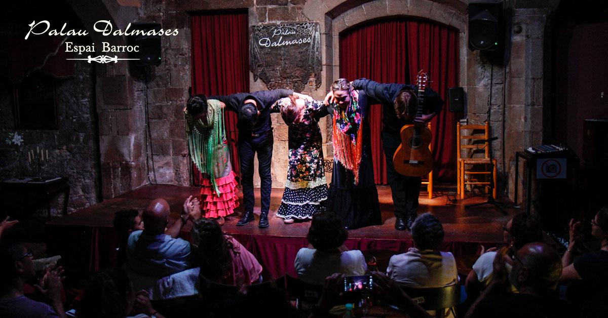 Comprar entradas flamenco Barcelona 00 | Palau Dalmases