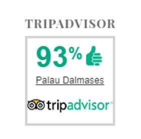 TripAdvisor opiniones 01 | Palau Dalmases