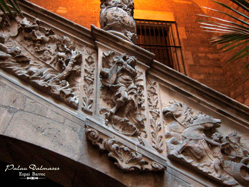 Palau Dalmases I Architecture