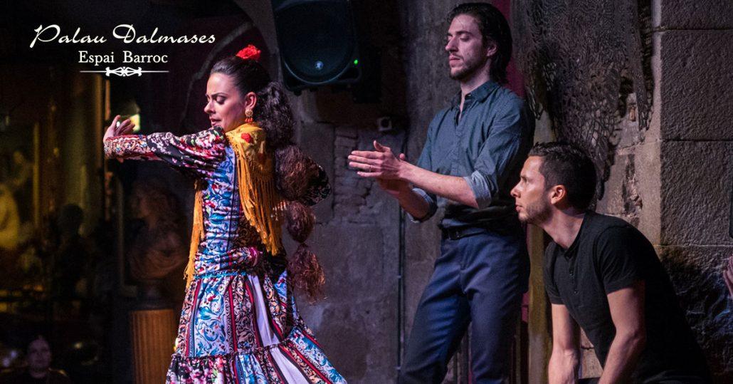 Flamenco en Barcelona en Palau Dalmases