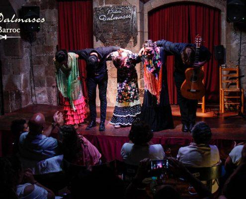 Flamenco in Barcelona I Palau Dalmases flamenco show