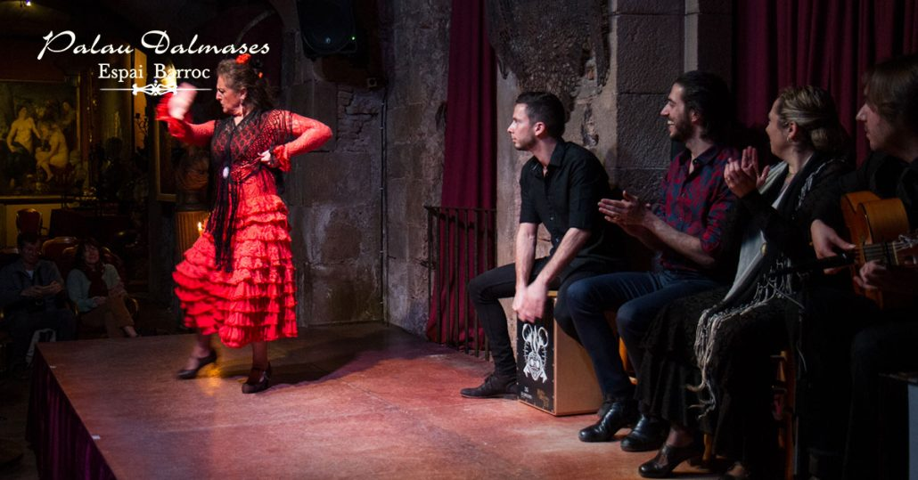 Reason to see flamenco in Barcelona I Palau Dalmases