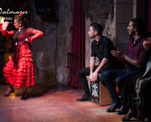 Reason to see flamenco in Barcelona I Palau Dalmases