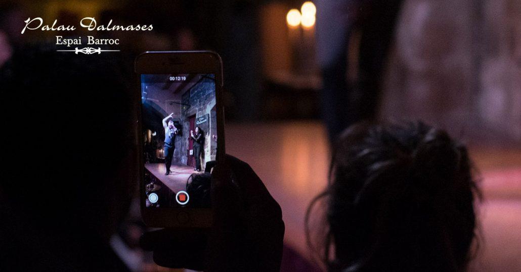 Flamenco en Barcelona fotos I Palau Dalmases