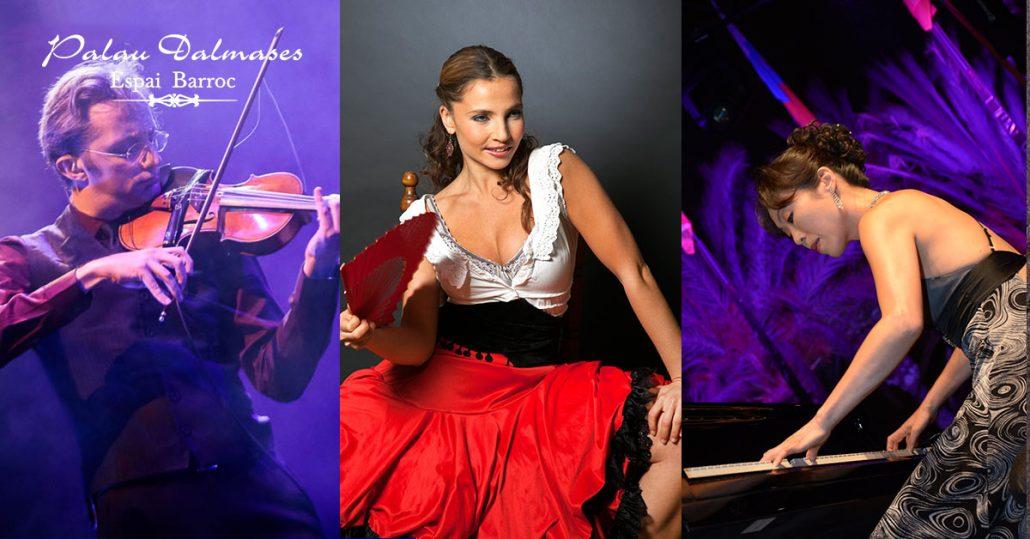 Espectáculo de danza española I Palau Dalamses I Flamenco en Barcelona