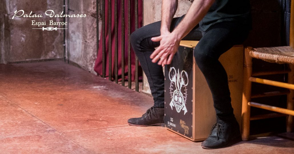 The Origin of the flamenco drum box I Palau Dalmases I Flamenco show in Barcelona