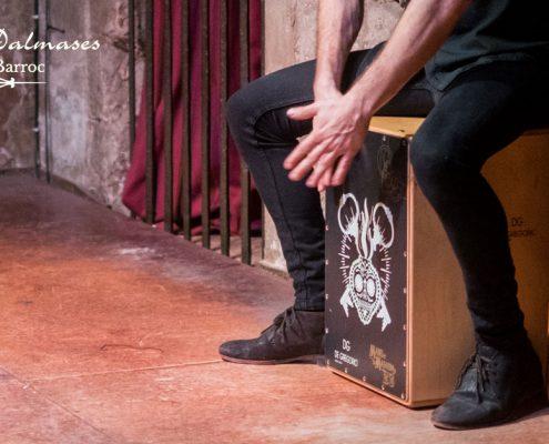 El origen del Cajón Flamenco I Palau Dalmases I Espectáculo flamenco