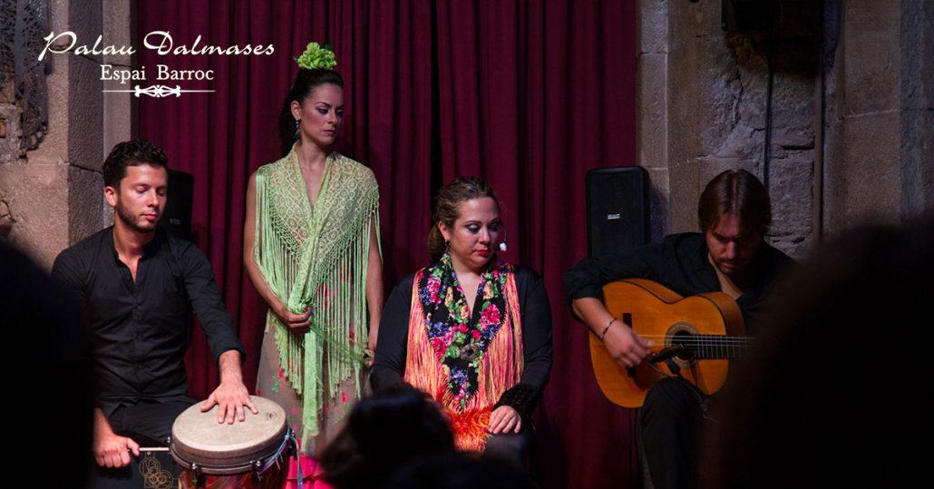 Origen del flamenco en Barcelona I Palau Dalmases Barcelona