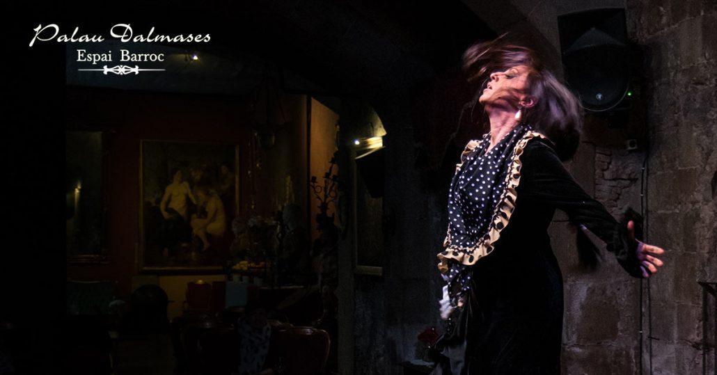 Espectáculo baile flamenco en Barcelona I Palau Dalmases