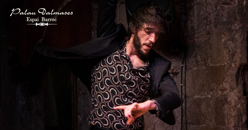 Baile flamenco en Barcelona I Palau Dalmases